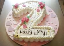 torta bambina emma 220x161 - PASTICCERIA e COLAZIONI